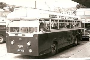 551, Leyland Royal Tiger LRH 693